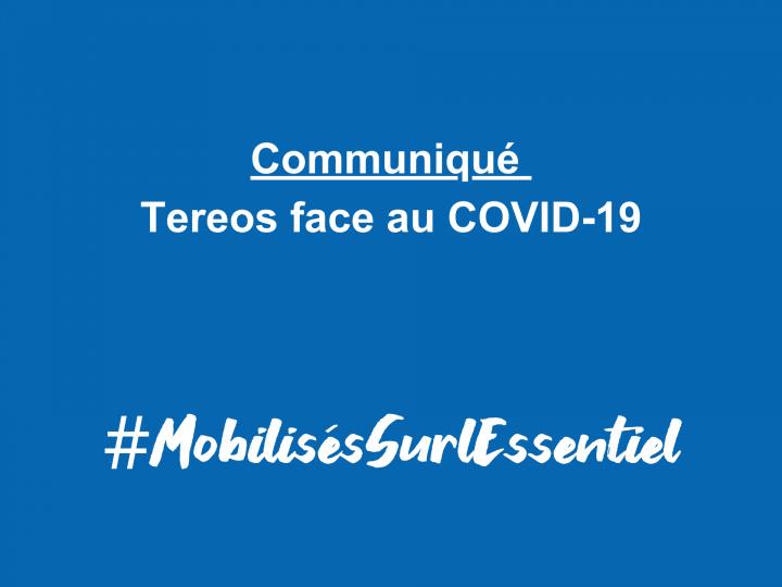 COVID-19 – Plan de continuité Tereos, Update