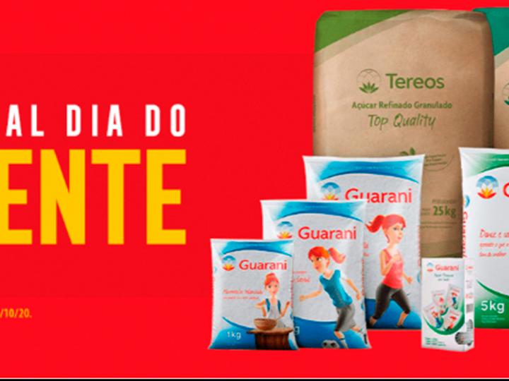 Pedidos do Açúcar Guarani pelo e-commerce crescem 307% durante a quarentena
